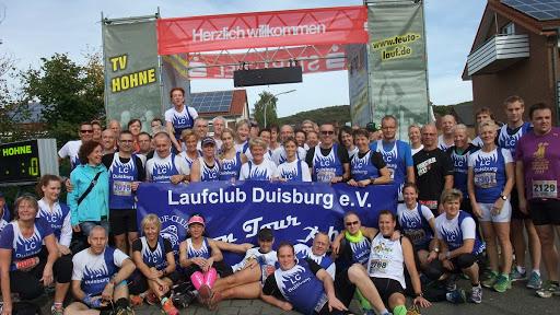 Vereinsfahrt zum Teutolauf am 19.10.2013 mit dem LC Duisburg - Foto LC Duisburg