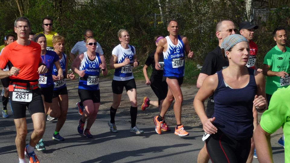 ASV-Winterlaufserie 3. Lauf Halbmarathon