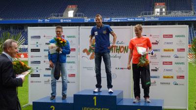 1. Christian Bröring-Tus BW Lohne 2:34:28 2. Björn Tertünte-MTG Horst-Essen 2:35:32 3. Karsten Kruck-ASV Duisburg 2:37:09