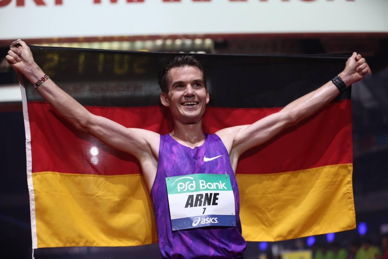 """mit freundlicher Genehmigung von """"Frankfurt Marathon"""""""